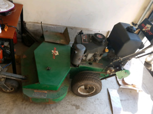 self propelled 48inch  walk behind bobcat commercial lawnmower
