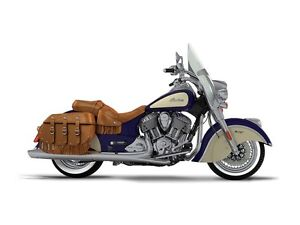 2017 Indian Motorcycle Chief Vintage Springfield Blue Over Ivory
