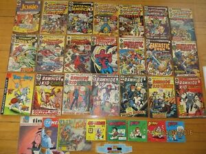 Lot de bande dessinée (comic books)