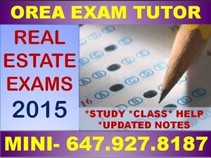 REAL ESTATE TUTOR - OREA EXAM HELP, NOTES, QUESTIONS