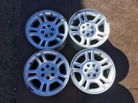 Dodge 16inch rims! Best offer takes them.