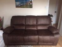 Recliner sofa 3 seats