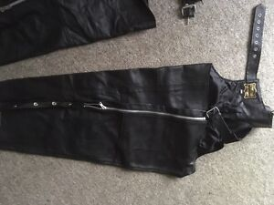All leather riding chaps Cambridge Kitchener Area image 1