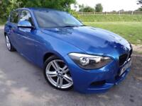 2013 BMW 1 Series 118d M Sport 5dr FSH! Auto Lights and Wipers! 5 door Hatch...