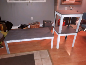 3 pc coffee/end tables