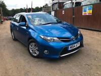 TOYOTA AURIS TOURING HYBRID UK CAR LOW MILES WARRANTED MILE HPI CLEAR FREE TAX