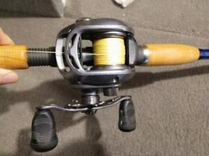Daiwa LEXA 300 6.3:1 Lefty Pike Muskie Musky reel