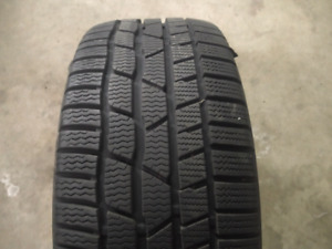 1 tire 225/40/18 Continental winter contact