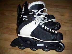 CCM Tacks roller blades Mens size 11 worn once excellent skates