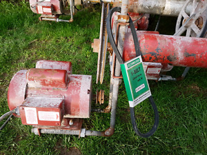 Utility Augers 4 inch with motors
