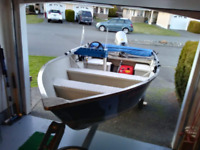 2003 PrinceCraft Yukon 20 Deluxe 14' Boat, Motor and Trailer