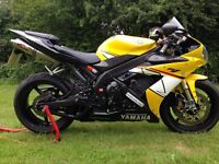 YAMAHA R1 5VY 2005 moto cross bikes welcome as part ex