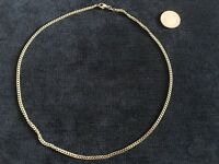 14 ct 585 gold belcher rolo chain necklace