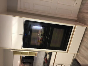Whirlpool double wall oven for sale