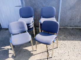 10x Office chairs