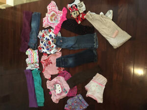 Toddler Girls size 3 - outfits, paw patrol, jeans, pjs