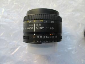 Lentille Nikon AF-D 50mm f1.8