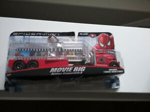 Spiderman Movie Rig Truck / collectible