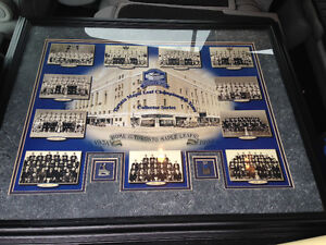 TORONTO MAPLE LEAFS GARDENS CHAMPIONSHIP YEARS FRAMED PRINT