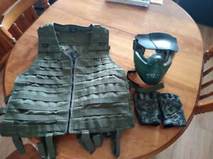 Beginner paintball clothing and gear