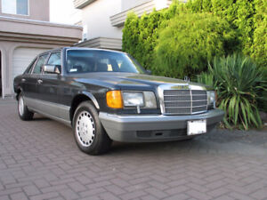 M-B 420SEL is Ready for Collector Plate