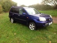 Nissan X trail AWD SPARES OR REPAIR