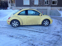 SOLD--2003 Volkswagen Beetle Coupe for Parts