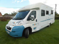 Peugeot Pilote Reference P730 3 Litre 4 Berth Separate Bedroom Large Garage