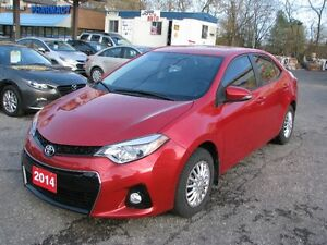 2014 Toyota Corolla S Sedan**$10990+HST**LOW KM**WOW**