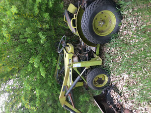 15hp 4wheel drive Yanmar parts tractor