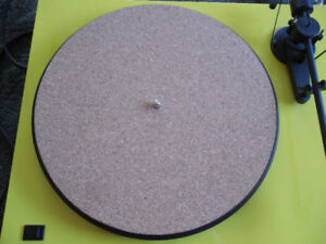 new cork turntable mat