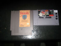 original nintendo and super nintendo game
