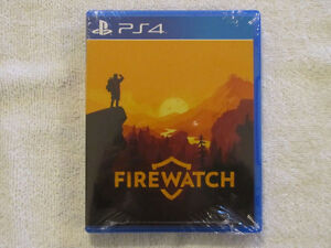 Firewatch PS4 BRAND NEW SEALED LIMITED EDITION