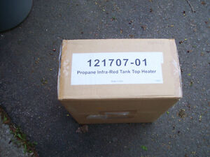 BRAND NEW DUAL BURNER PROPANE HEATERS paid 199.00 plus taxe