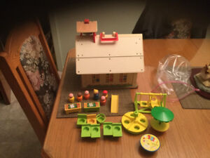 École Fisher price vintage