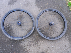 """26"""" front and back wheels"""