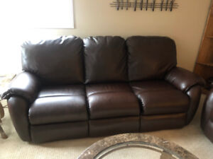 Reclining Sofa and Free Reclining LoveSeat