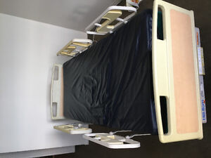 Electric Hospital Bed and Mattress