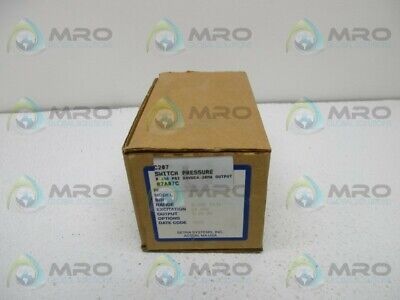 Setra C207 Pressure Transmitter New In Box