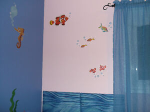 Ocean Theme Wall Decals