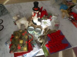CHRISTMAS  DECORATIONS  ALL INCLUDED