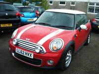 2012 62 Mini 1.6 One D 3d **ZERO TAX**