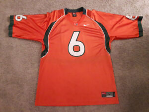 Miami Hurricanes NCAA College Football Jersey For Sale