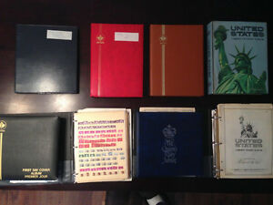 STAMPS - POST CARDS - CACHETS - ENVELOPES COLLECTION
