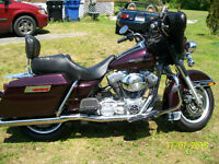 "Harley Davidson FLHT and Honda VTX 1300 ""Both in Mint Condition"""