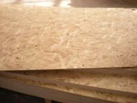 OSB BOARD osb 3 11mm 18 mm 8 x 4 sheets ply timber wood shed stud wall structural