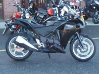 Honda CBR250 RA-B 12/12reg 4460miles VGC