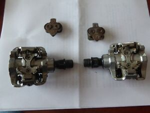 Wellgo SPD Clipless Pedals for cycle or triathlon