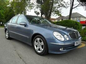 MERCEDES E 320 3.2 TD AUTO 2003 CDI AVANTGARDE COMPLETE WITH M.O.T HPI CLEAR INC