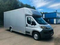 EURO 6 2017 17 Citroen Relay XLWB LOW FLOOR LOADER XL LUTON VAN NEW BUILD 5M BOX